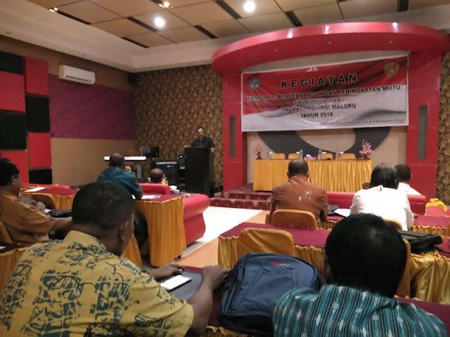 Dispenbud Maluku Gelar Koordinasi Pengembangan dan Peningkatan Mutu SMA