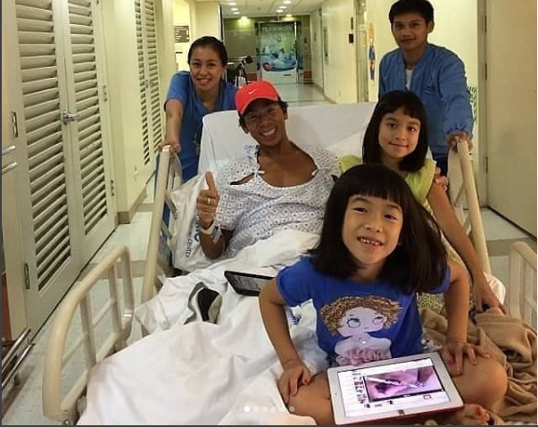 Kim Atienza was diagnosed with Guillain-Barré syndrome