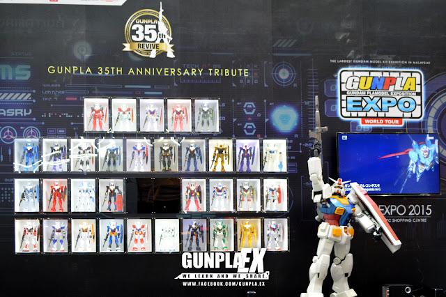 GUNPLA EXPO / GBWC 2015 - MALAYSIA PART 01 - PUTARO GUNPLA