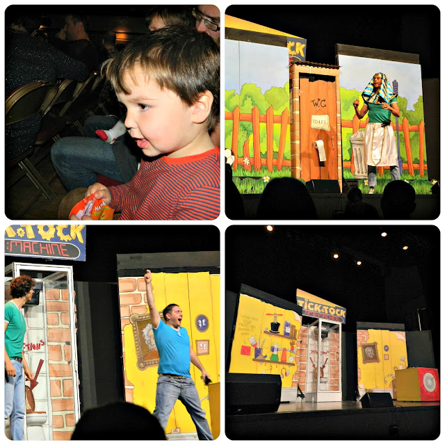 Andy & Mike's Tick Tock Time Machine Audience Boy Children Small cBeebies Andy Day Mike James