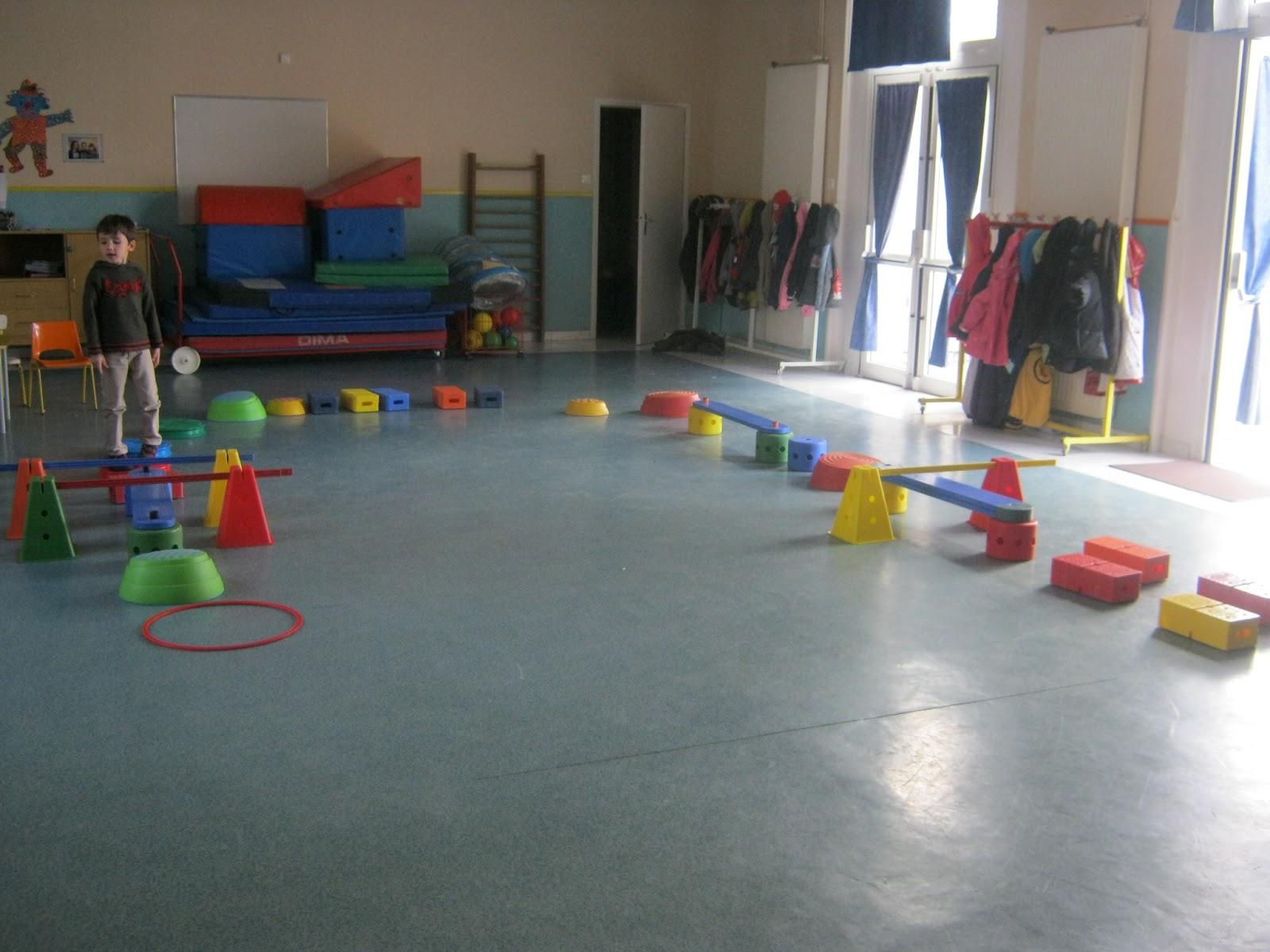 Motor Village La >> L'école maternelle de Nissan: Parcours de motricité ...