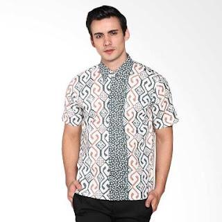 Model Baju Batik Pria Kombinasi Elegan