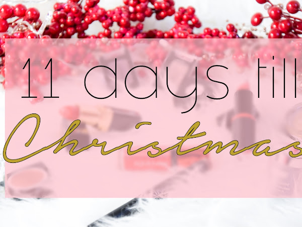 BLOGMAS :: 14 декември // Грим продукти за Коледа