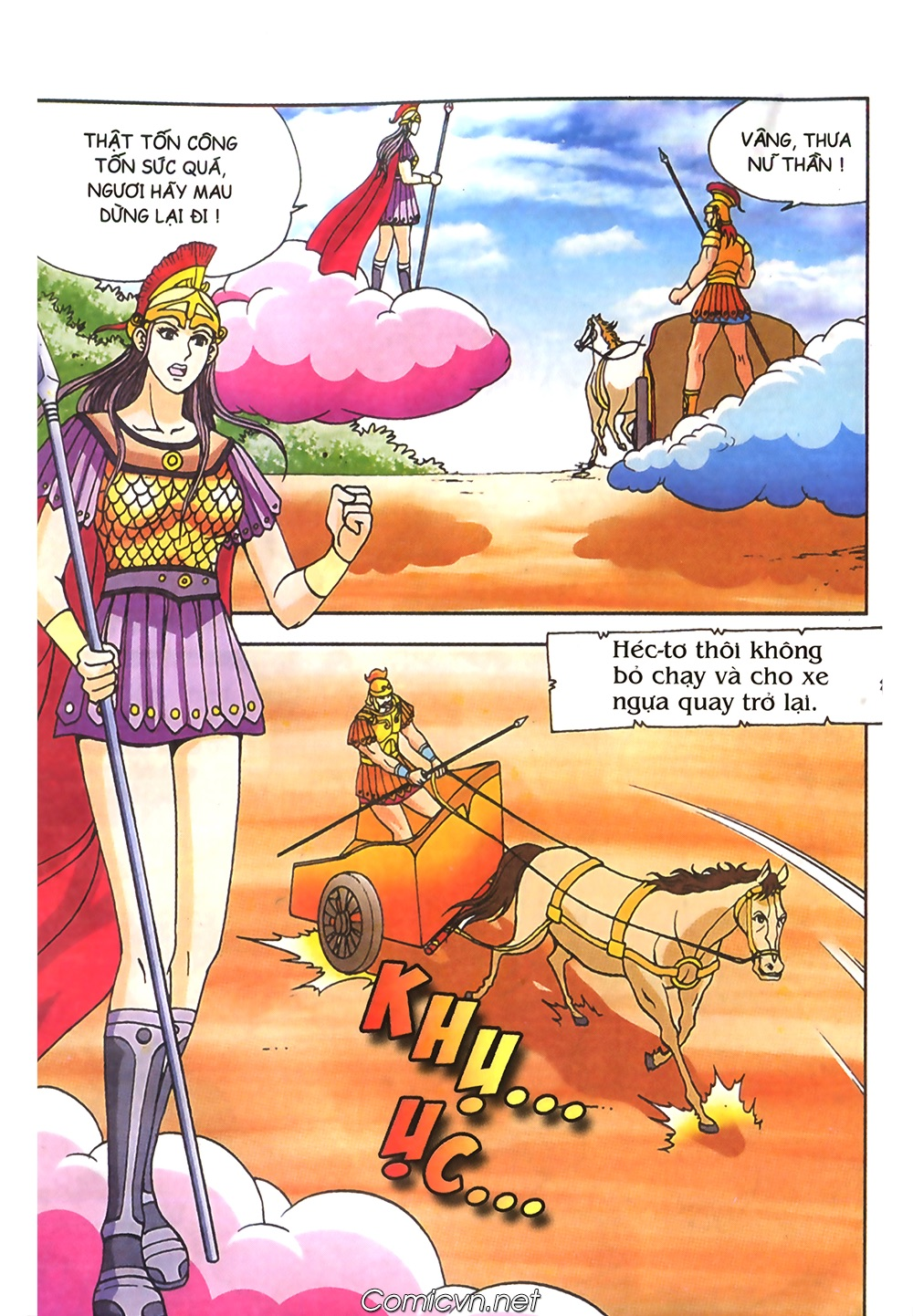 Thần Thoại Hy Lạp Màu - Chapter 61: So tài của hai vị tướng - Pic 21