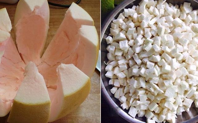 Cách nấu chè bưởi thơm ngon tại nhà