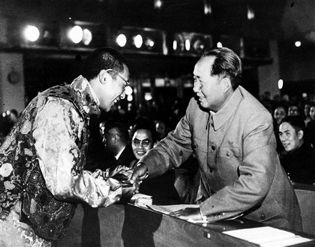 A letter from the Dalai Lama to Mao