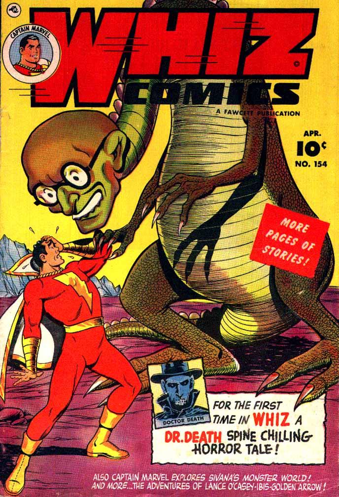 Read online WHIZ Comics comic -  Issue #154 - 1