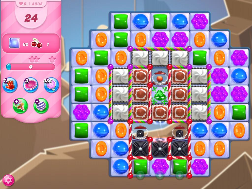 Candy Crush Saga level 4395