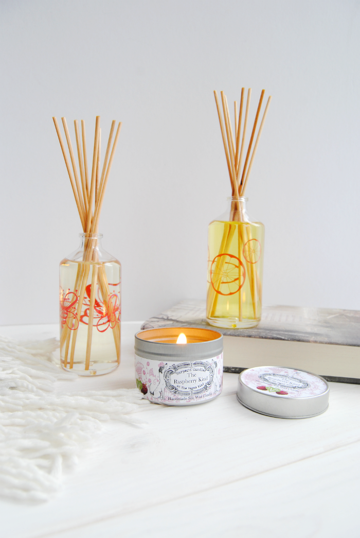 Vegan Candle & Pacifica Reed Diffuser Review