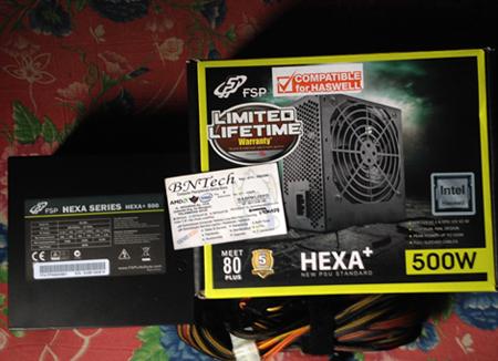 FSP Hexa 80+ H2-500 500W