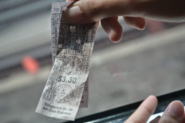 Tiket Singapore-Johor Bahru