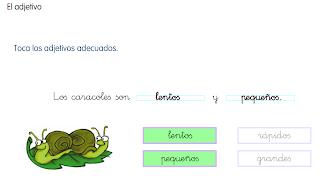 http://www.primerodecarlos.com/SEGUNDO_PRIMARIA/enero/tema1/actividades/LENGUA/adjetivo.swf