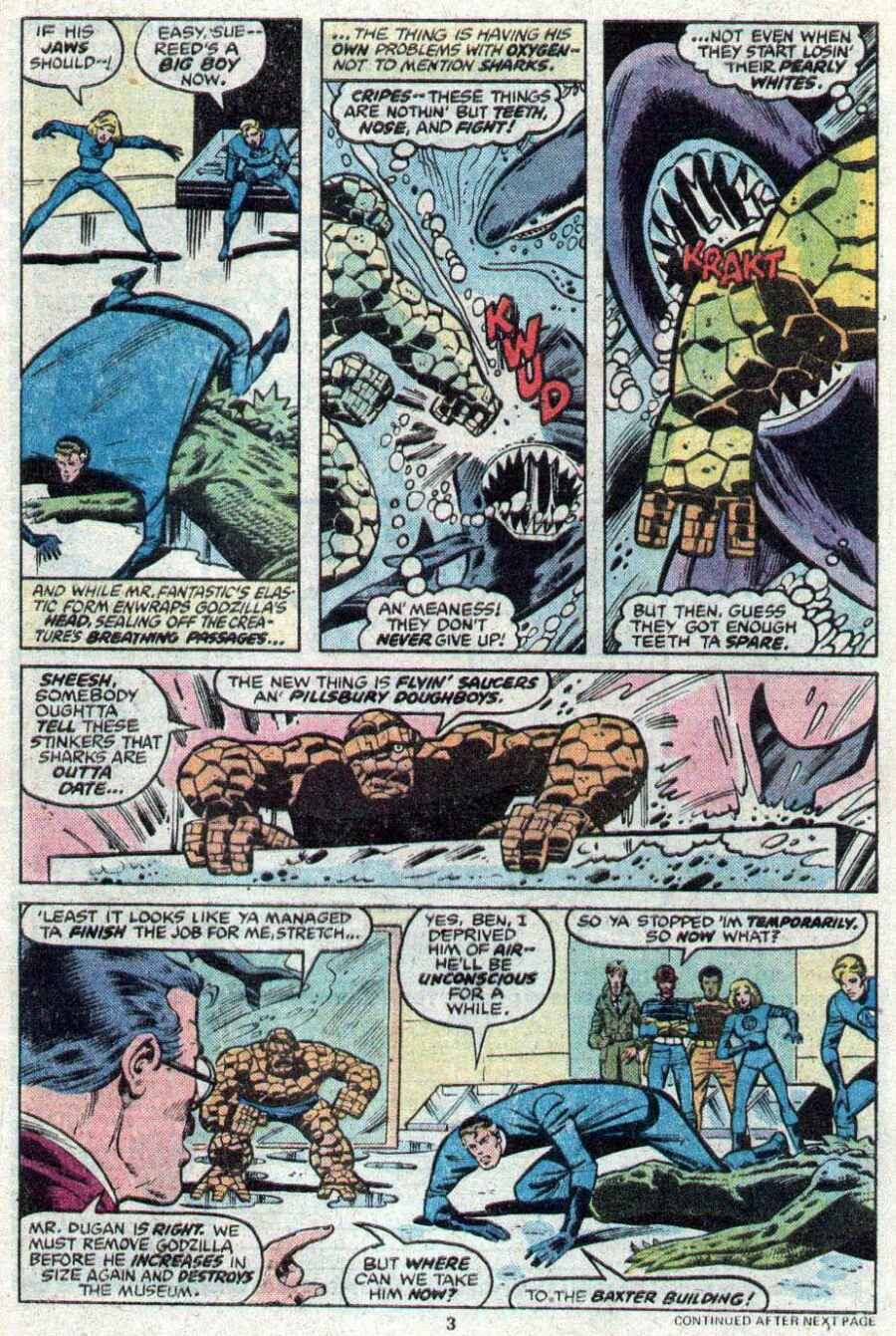 Godzilla (1977) Issue #21 #21 - English 4