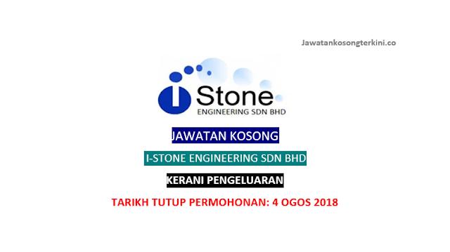 Jawatan Kosong I-Stone Engineering Sdn Bhd