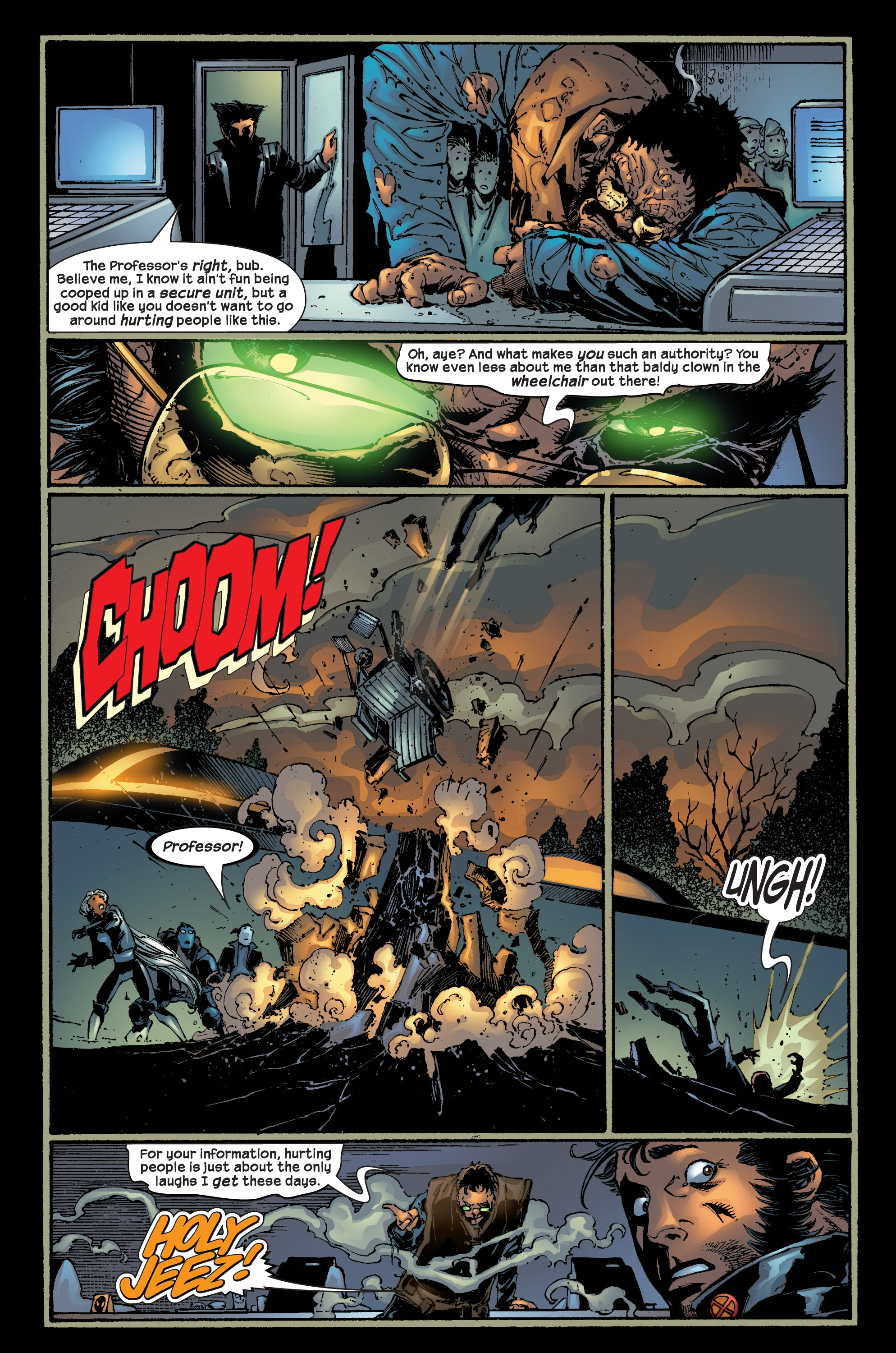 Read online Ultimate X-Men comic -  Issue #17 - 11