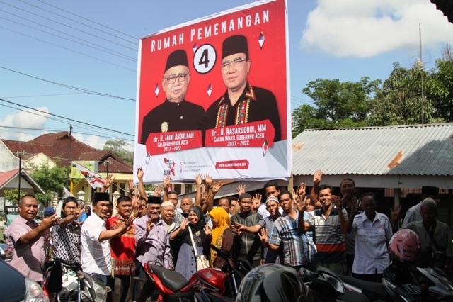 Tim AZAN Aceh Tenggara Lakukan Konsolidasi Pemenangan Pilkada