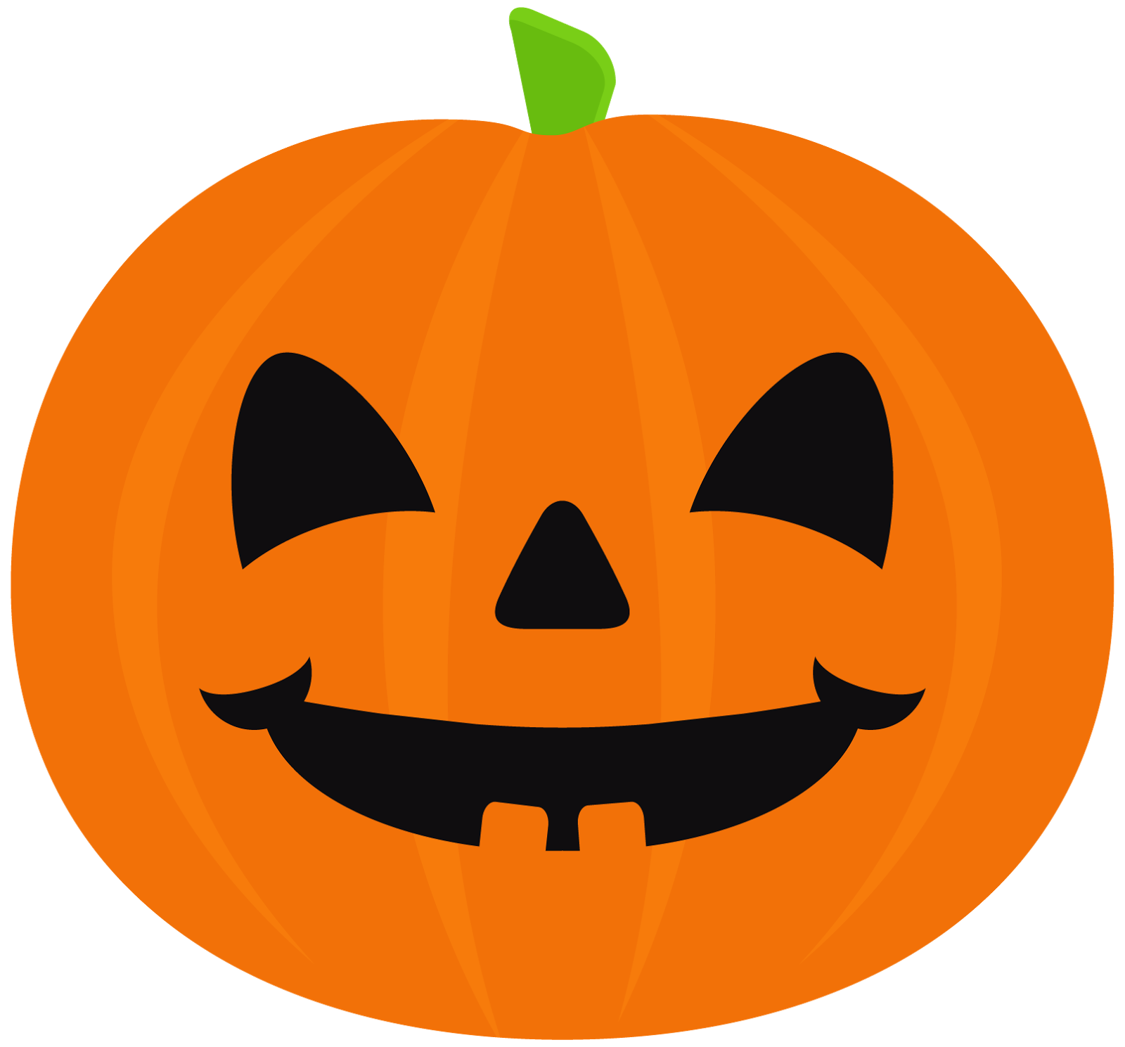 Halloween Pumpkin Clipart. | Oh My Fiesta! in english