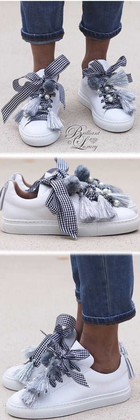 Brilliant Luxury ♦ Alameda Turquesa The Silver white sneakers