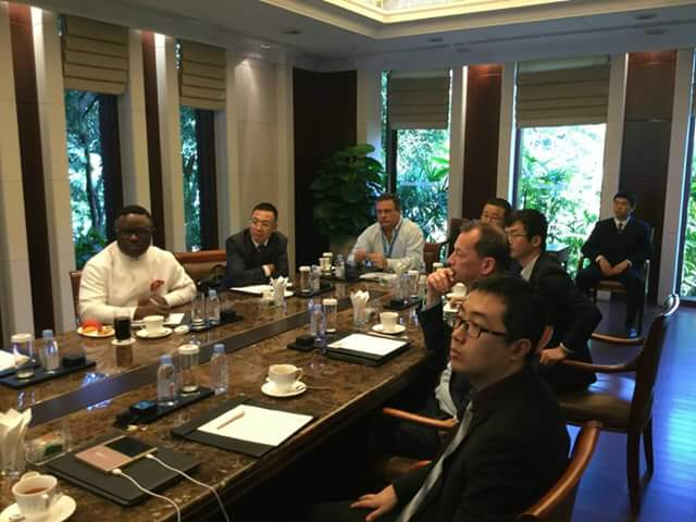 Ayade, Huawei hold technical session on Calabar Smart City Project