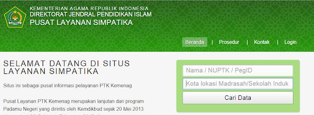 Simpatika : Admin Kabupaten Siap Menerima Pengajuan Peg ID Bagi Guru Agama Baru