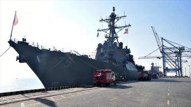 EEUU enviará más destructores en Europa para contrarrestar a Rusia