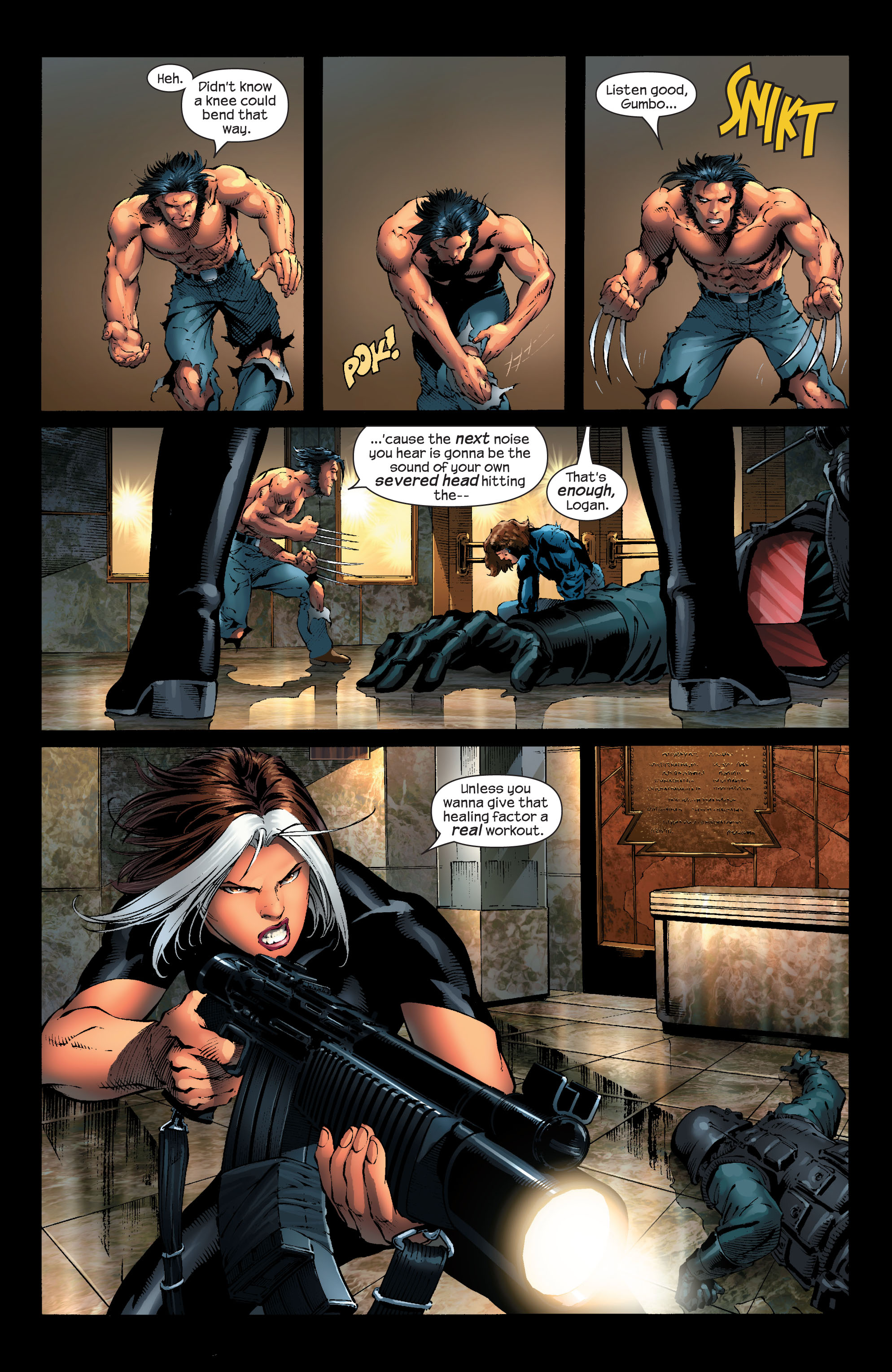 Read online Ultimate X-Men comic -  Issue #53 - 14