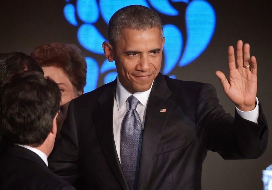 Obama se reúne com dissidentes cubanos antes da reunião com Castro
