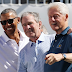 Former US Presidents, Obama, Bush and Clinton appear together at a Golf Tournament (Photo)