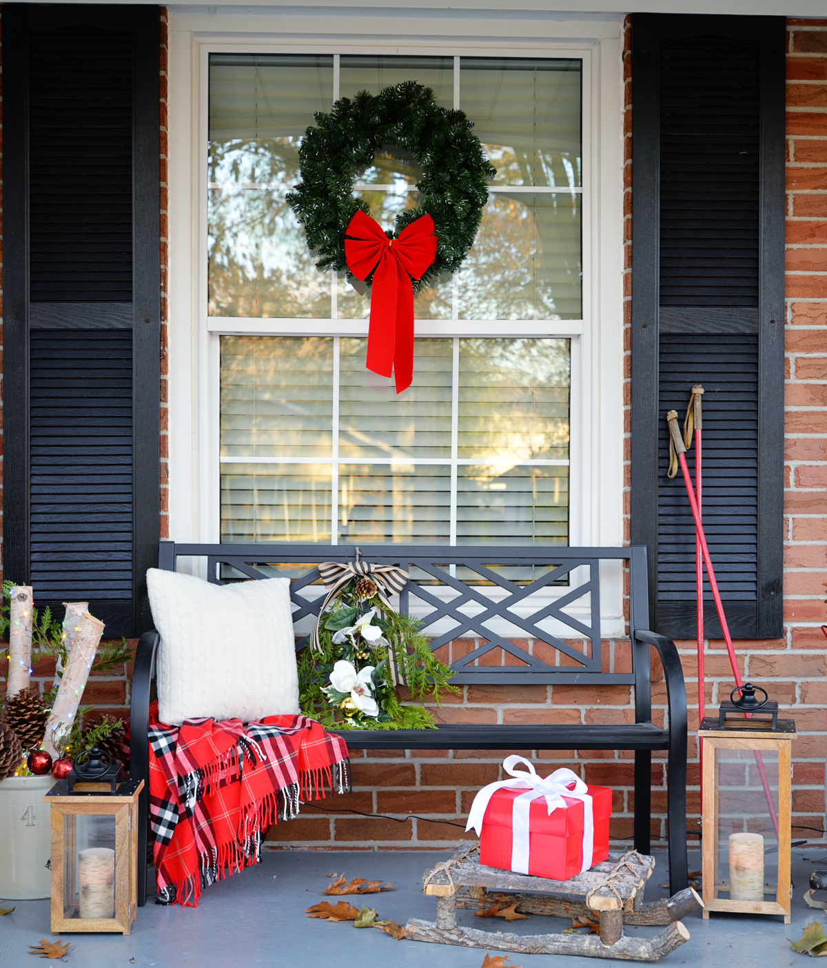 7 Ways of How To Hang Wreaths Windows Rambling Renovators