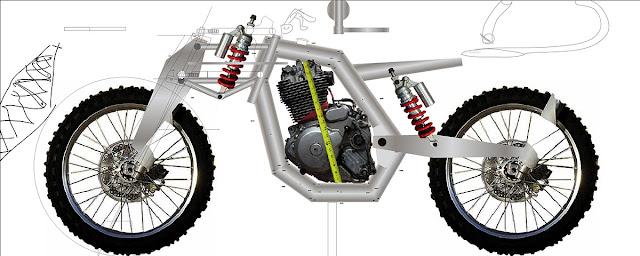 Dirtbag Challenge Suzuki DR 650 Mockup