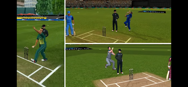 Real Cricket 19 New Bowling Action