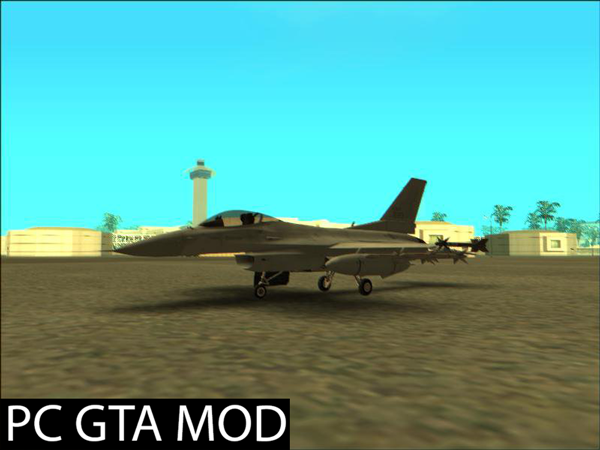 Free Download F-16C ROKAF  Mod for GTA San Andreas.