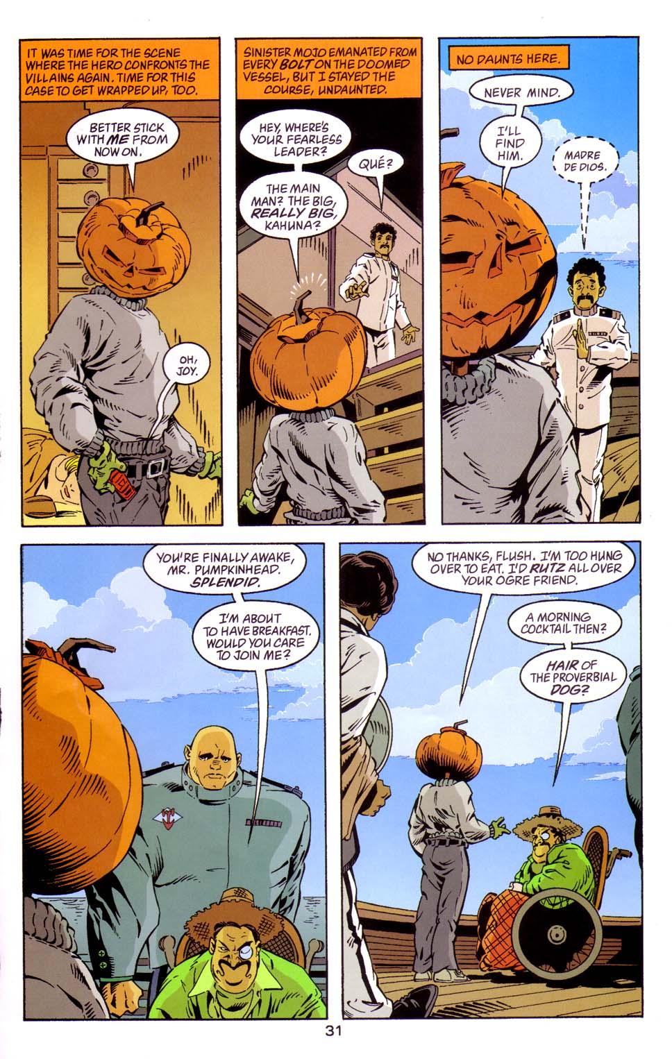 Read online Merv Pumpkinhead, Agent of D.R.E.A.M. comic -  Issue # Full - 32