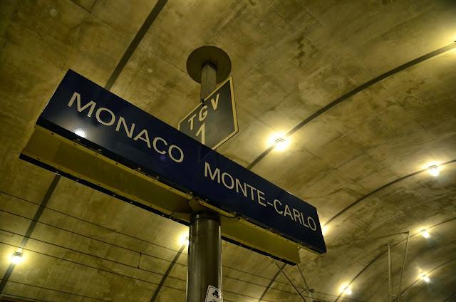 모나코 몬테카를로역 モナコモンテカルロ駅