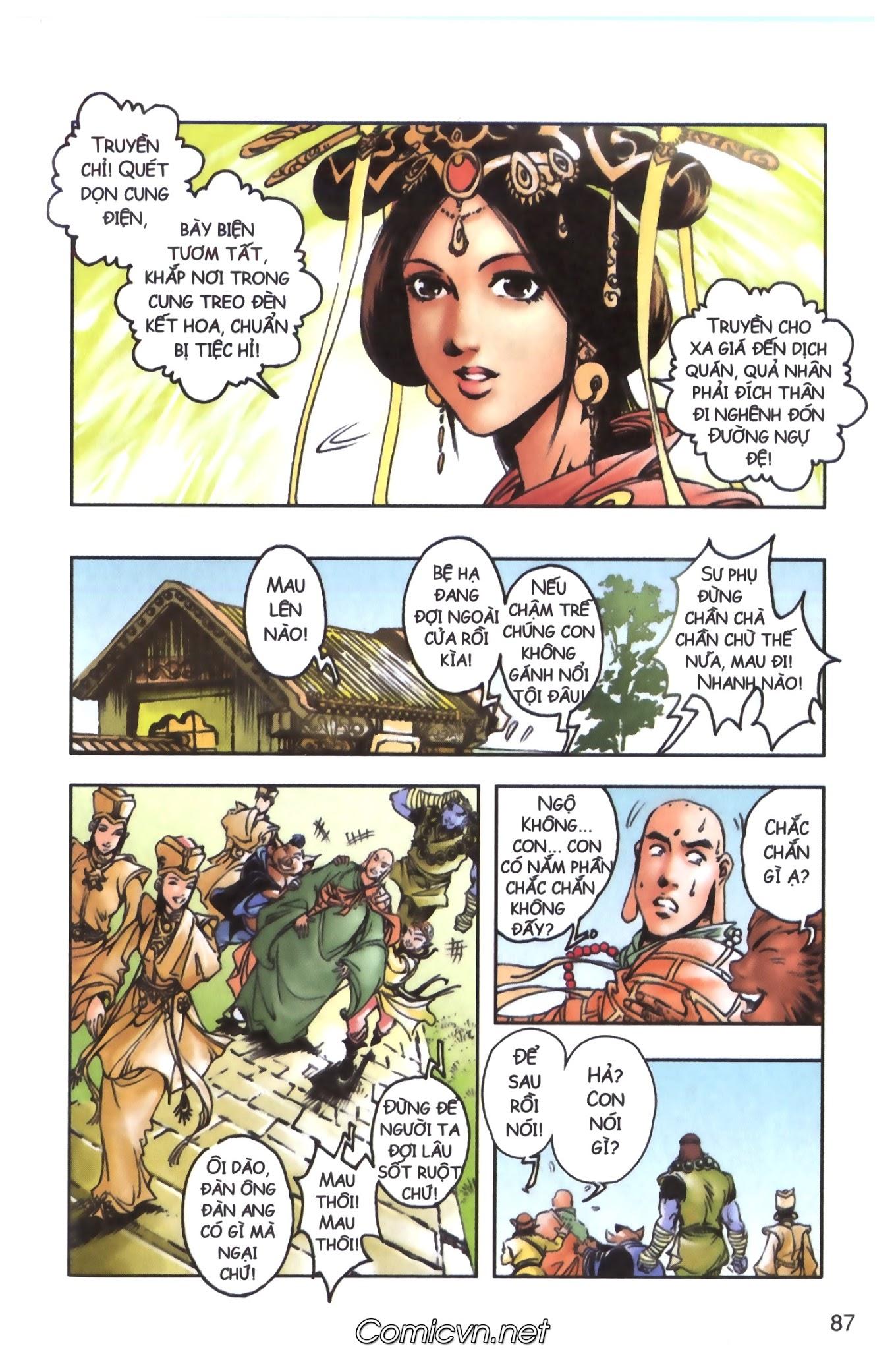 Tây Du Ký màu - Chapter 98 - Pic 18