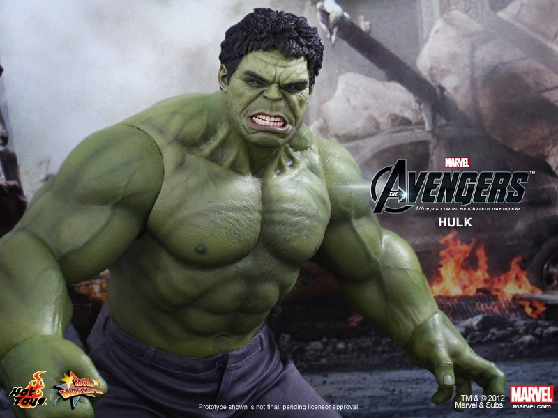 onesixthscalepictures: Hot Toys The Avengers Hulk : Latest ...