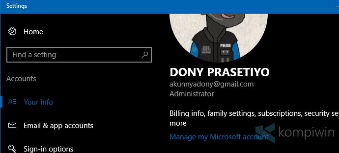 Cara Membuat Akun Microsoft dan Mengganti User Lokal ke Akun Microsoft di Windows 8.1 dan Windows 10 11