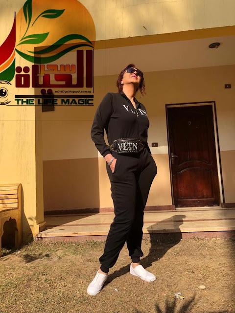 """خاص لسحر الحياة """"وفاء عامر سعيدة بالعمل لثاني مرة مع حورية فرغلي"""