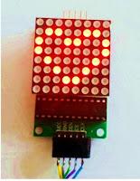 max7219 module led 8x8