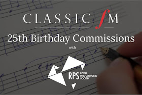 Classic FM 25th birthday commissions