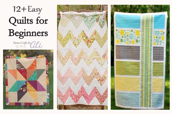 easy quilt tutorials for beginners on Home Crafts by ALi