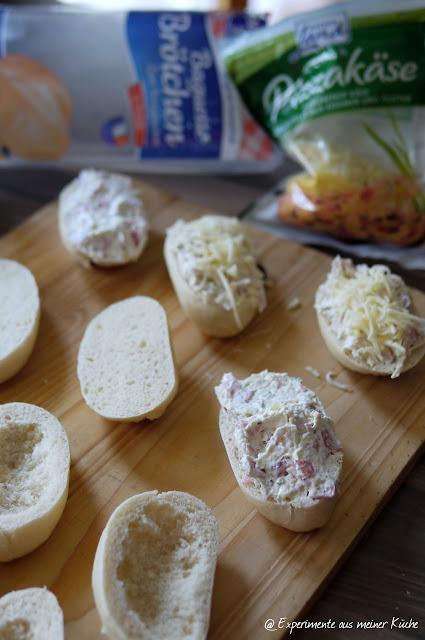 Experimente aus meiner Küche: Partybrötchen