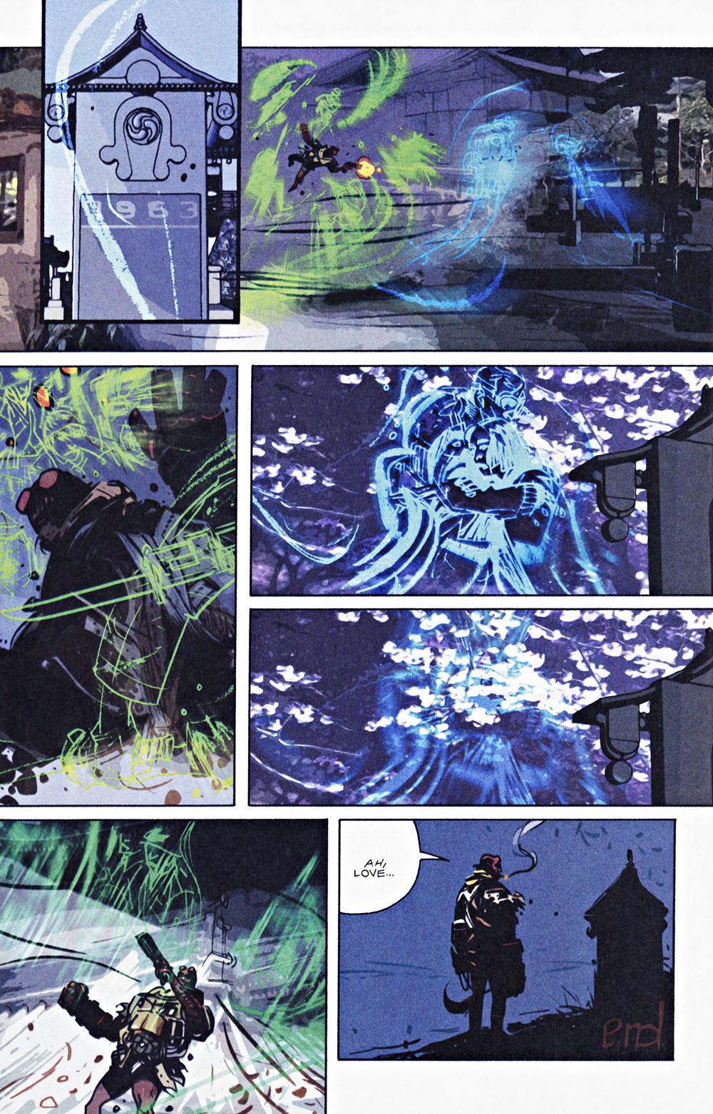 Read online Hellboy: Weird Tales comic -  Issue #7 - 10
