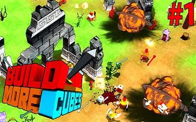 لعبة الحرب الاستراتيجية Build More Cubes