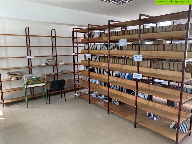 El Ayuntamiento de Fuencaliente renueva su Biblioteca Municipal convirtiéndola en un espacio atractivo para la Cultura