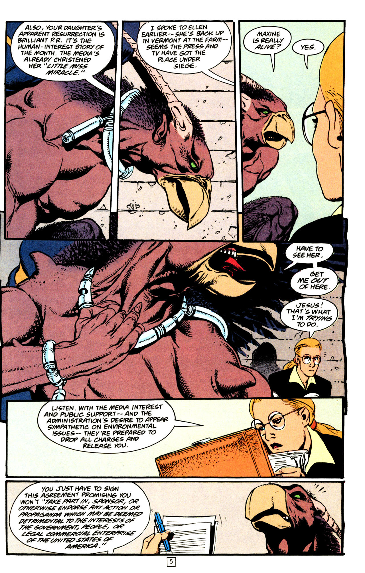 Read online Animal Man (1988) comic -  Issue #72 - 6