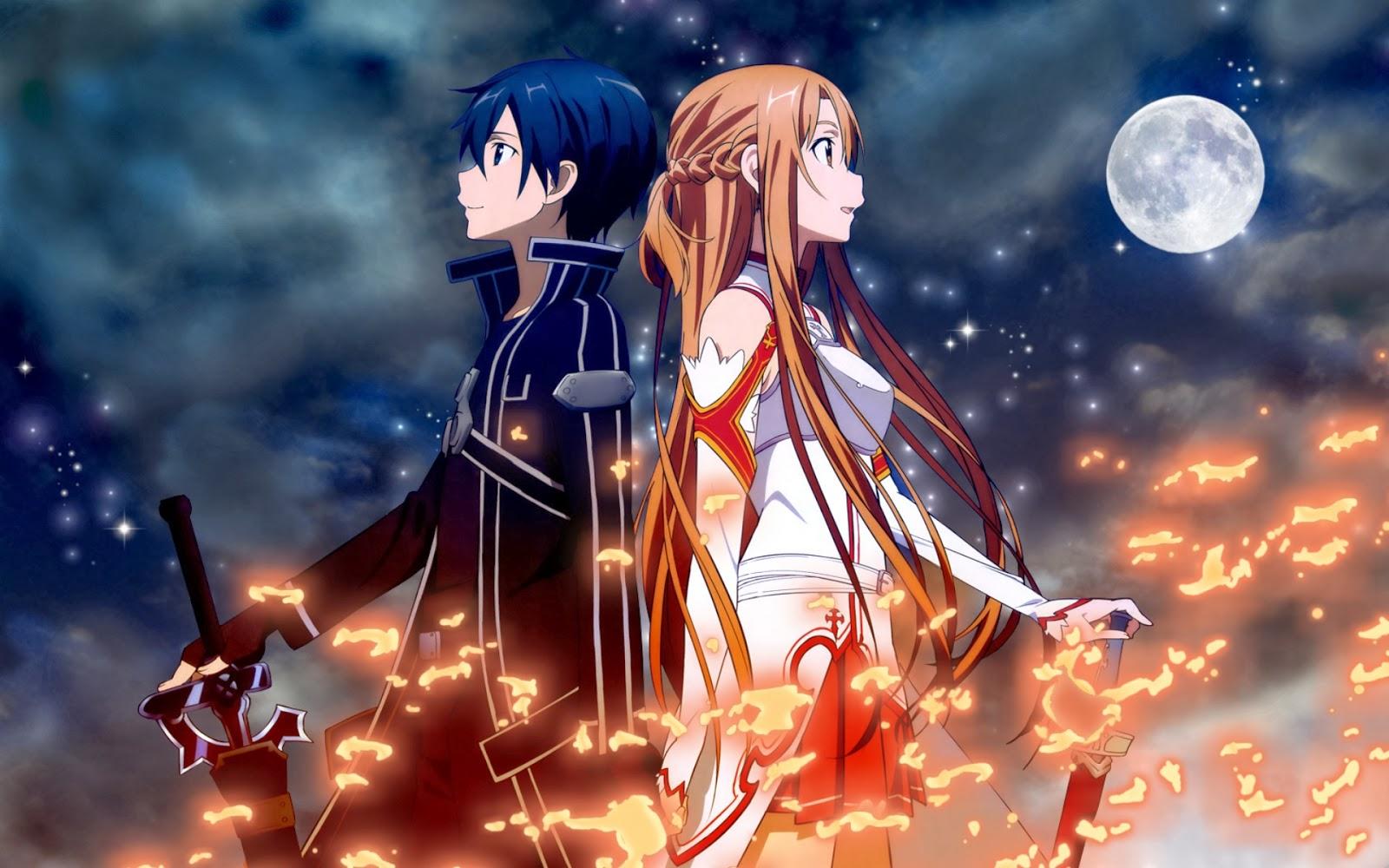 Memadukan Action Drama Dan Dunia Fantasy Sword Art Online Menjadi Salah Satu Anime Romance