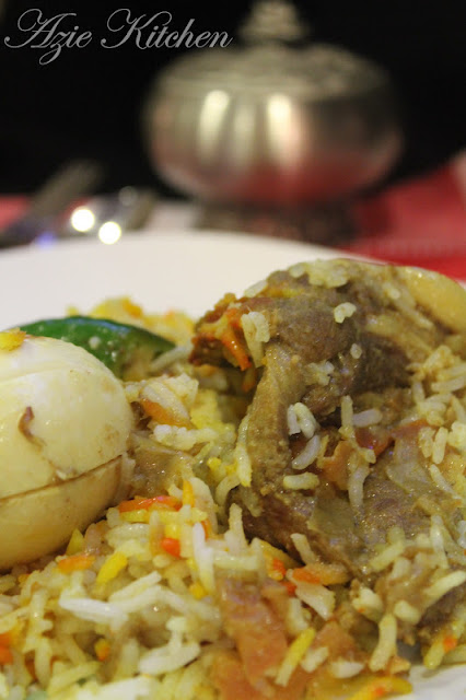 Nasi Beriani Kambing Pakistan Yang Memang Super Duper Sedap
