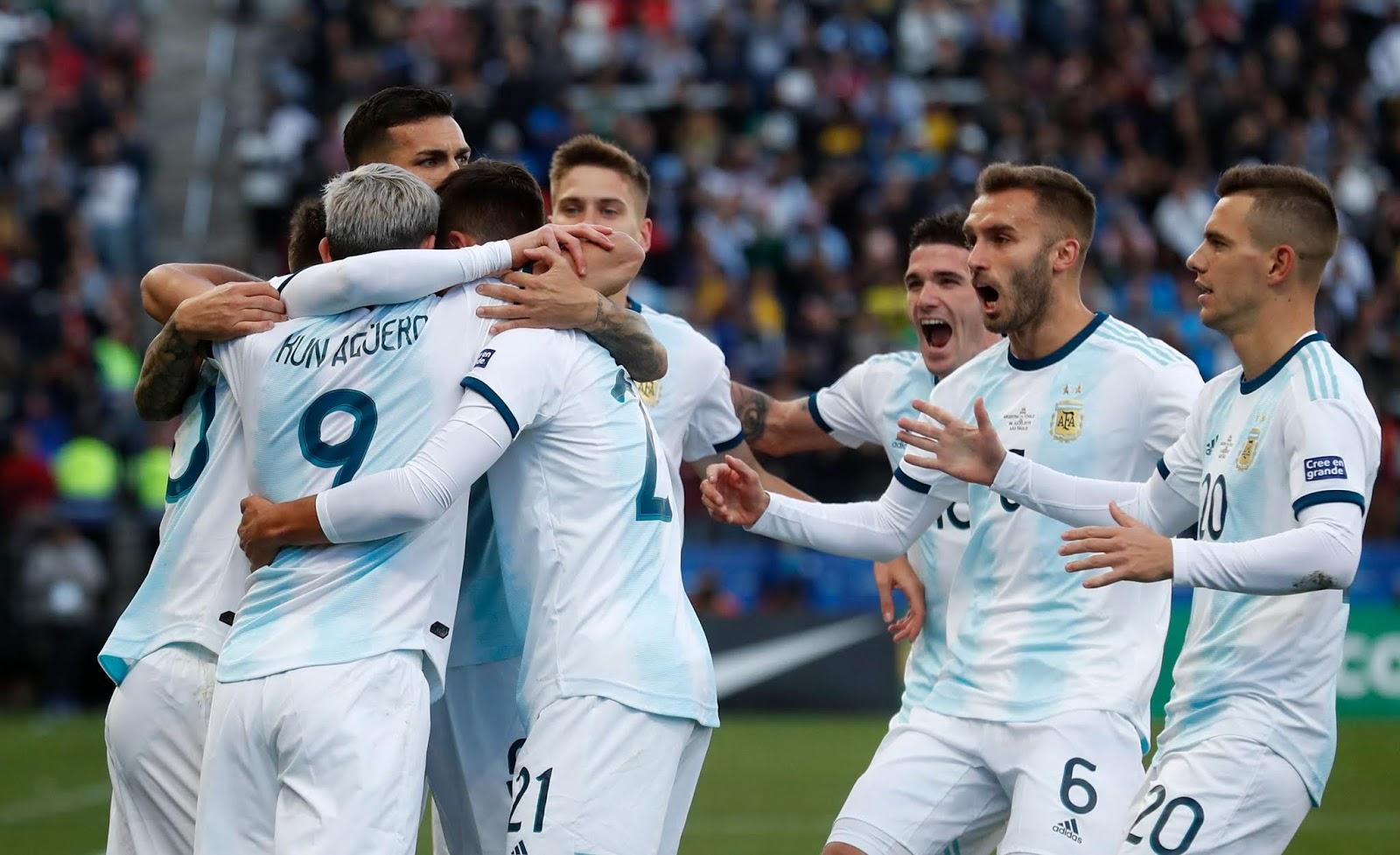 Argentina Chile Tercer puesto de Copa America