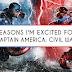 Reasons I'm Excited for Captain America Civil War